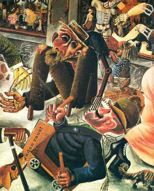 Pragerstrasse by Otto Dix