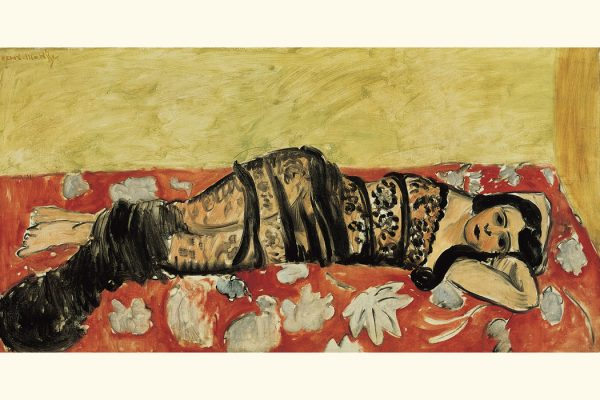 The Black Shawl, 1917, by Henri Matisse