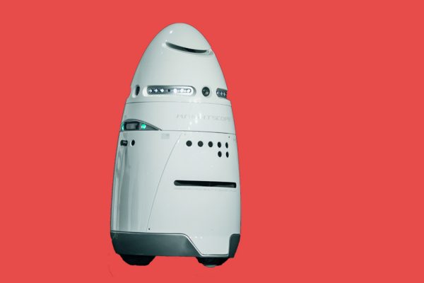 The Knightscope K5 Security Robot