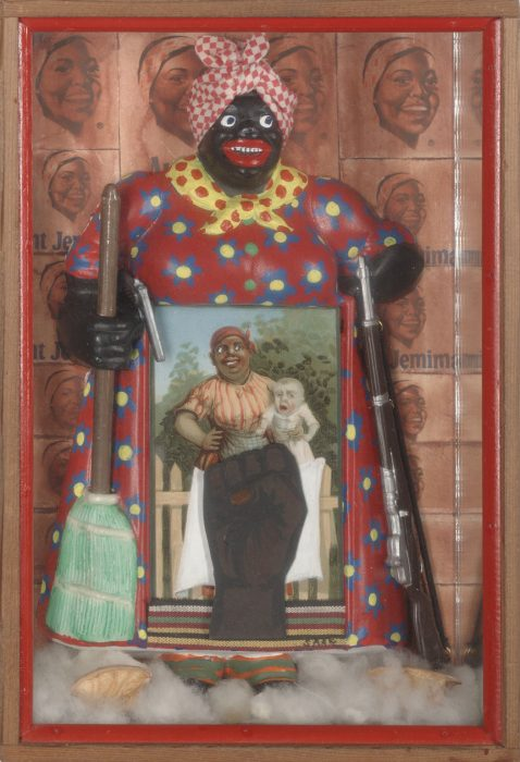The Liberation of Aunt Jemima by Betye Saar