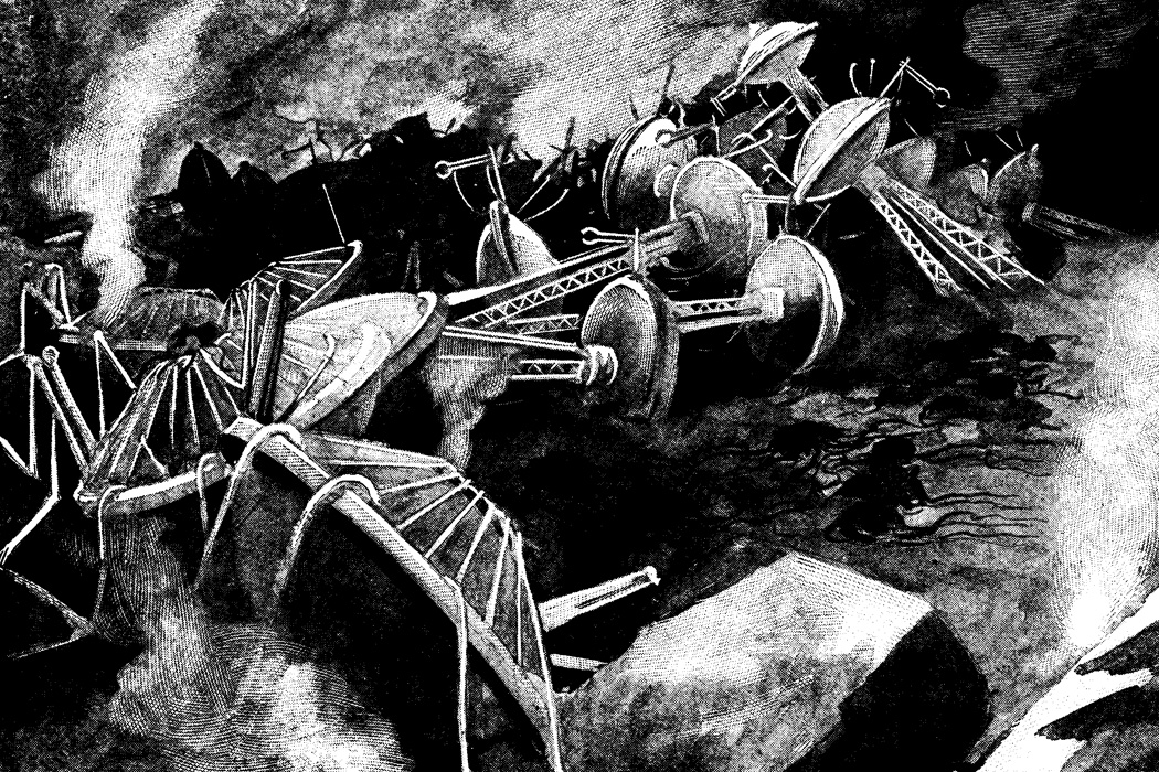 An illustration from War of the Worlds