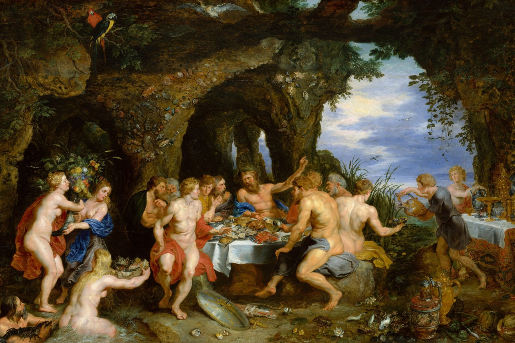 The Feast of Achelous by Peter Paul Rubens, circa 1615