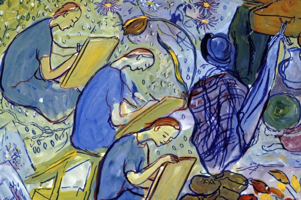 Charlotte Salomon, gouache from Life? or Theater?