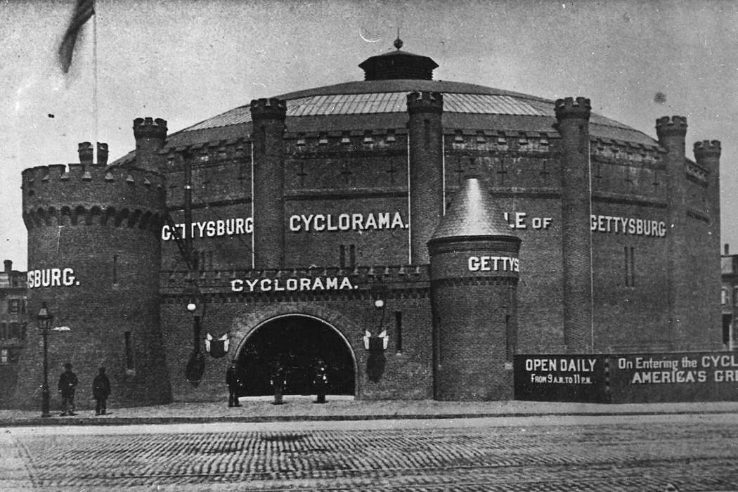 Cyclorama in South End Boston, 1964.