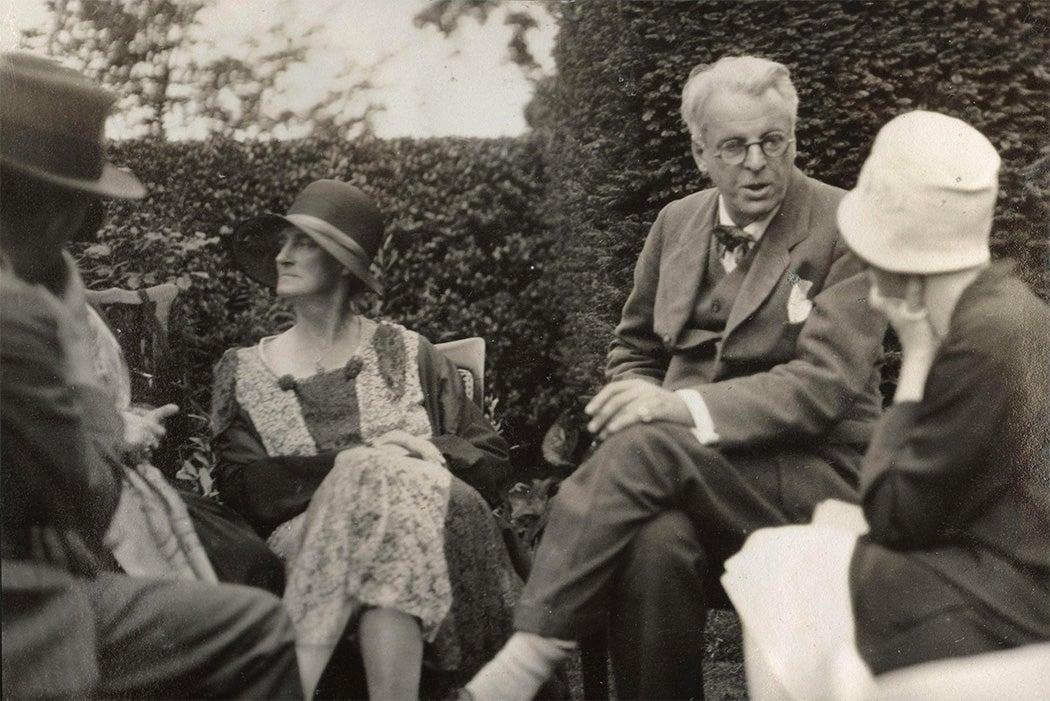 Georgie Hyde-Lees and W.B. Yeats