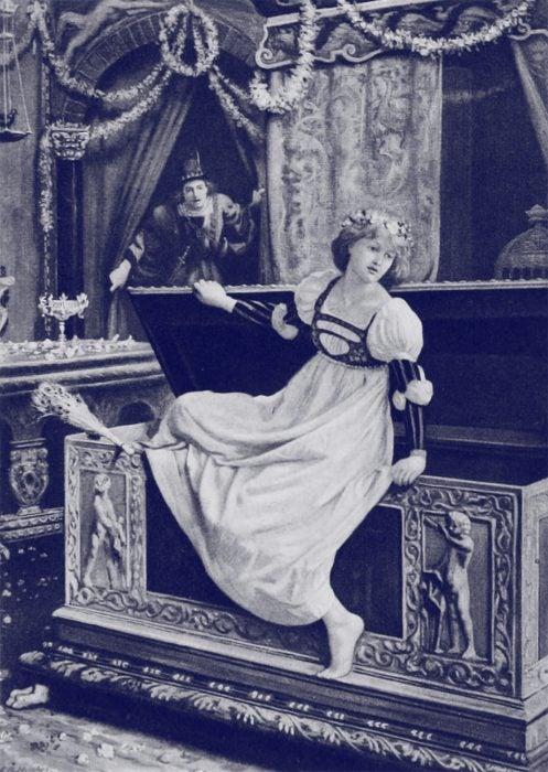 "Illustration from ""The Nights of Straparola"" (1894)"