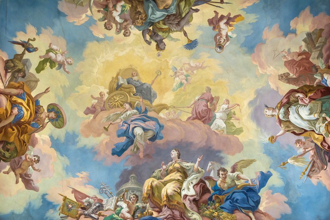 Triumph of St. Benedict