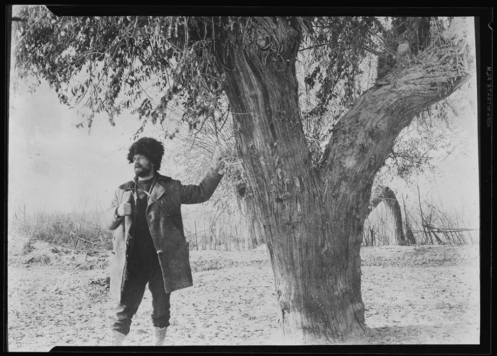 Frank Meyer in Chinese Turkestan, 1910
