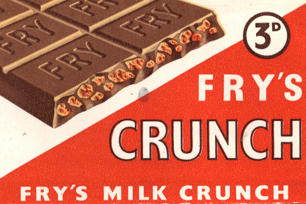 An advertisement for Fry's Chocolate