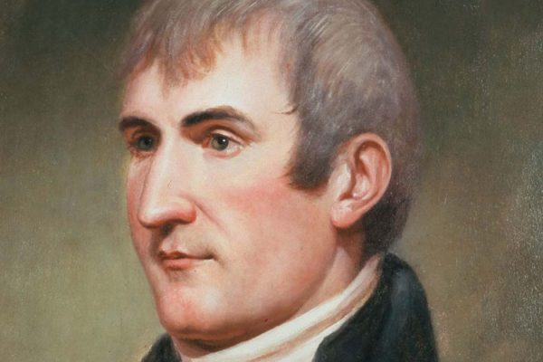Portrait of Meriwether Lewis by Charles Willlson Peale