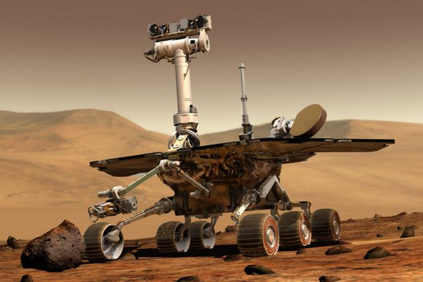 a NASA Mars Exploration Rover