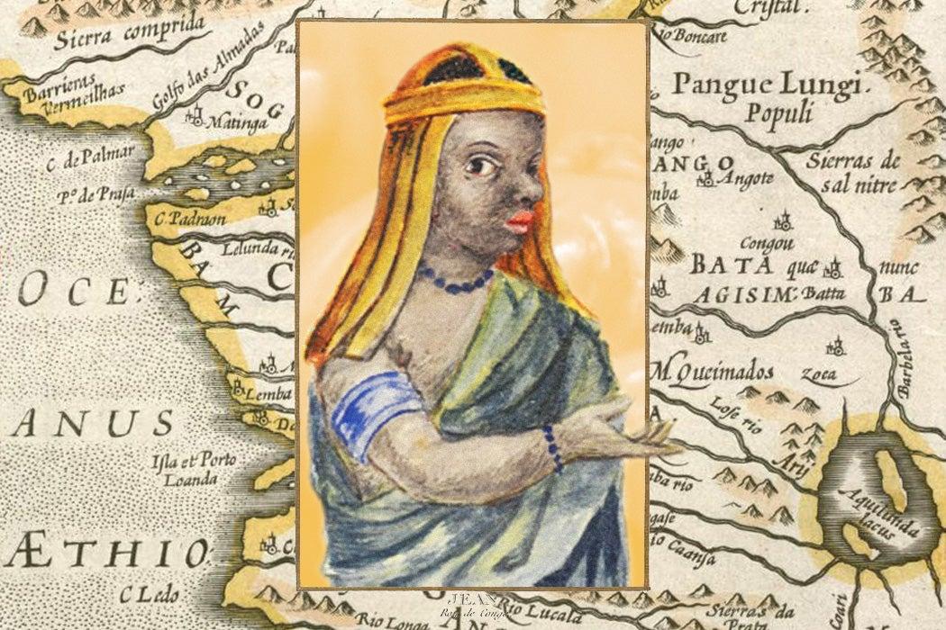 Kimpa Vita and a map of Kongo