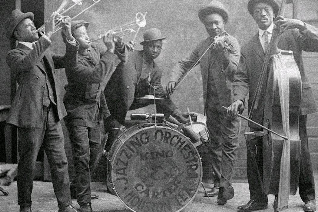 King & Carter Jazzing Orchestra, Houston Texas, 1921