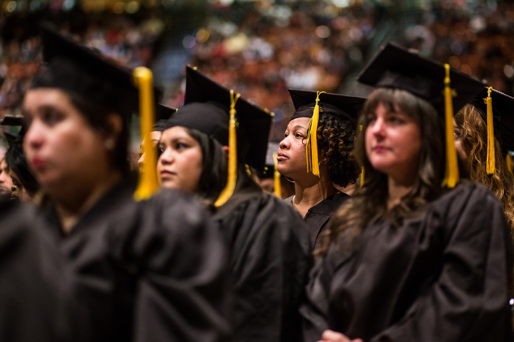 Austin Community College Fall 2017 Commencement ceremonies on Thursday, December 14, 2017 at the Frank Erwin Center.