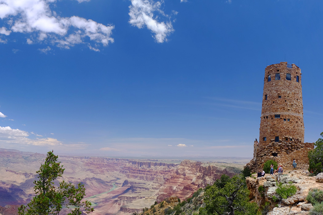 Desert View Watchtower, Grand Canyon, Arizona