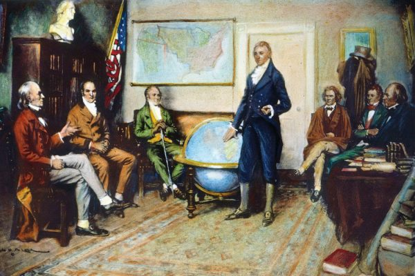 The Birth of the Monroe Doctrine by Clyde O. DeLand