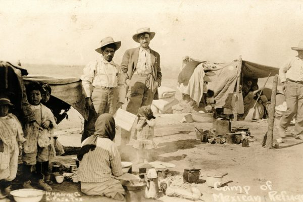 Camp of Mexican Refugees, c. 1910-1918
