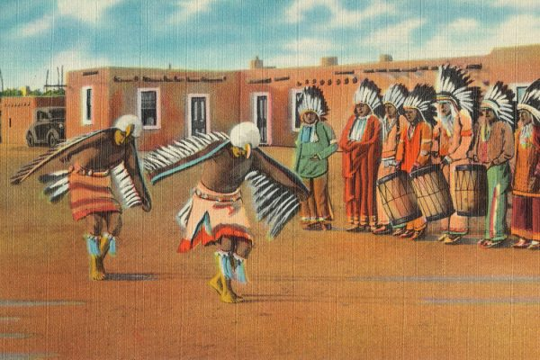 Pueblo Indian Eagle Dance, New Mexico
