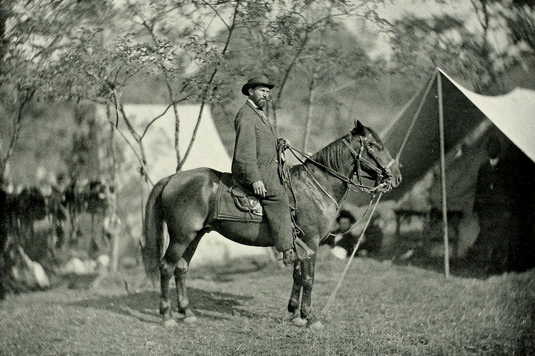 Allan Pinkerton at the camp at Antietam in September, 1862