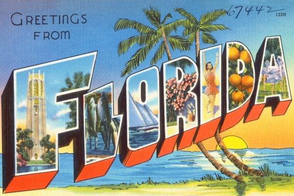A Florida postcard