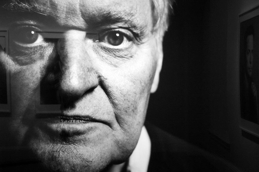 John Ashbery by Steve Pyke