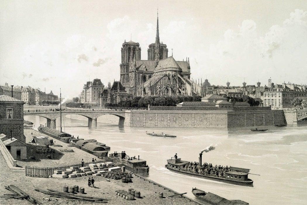Notre-Dame, 1881