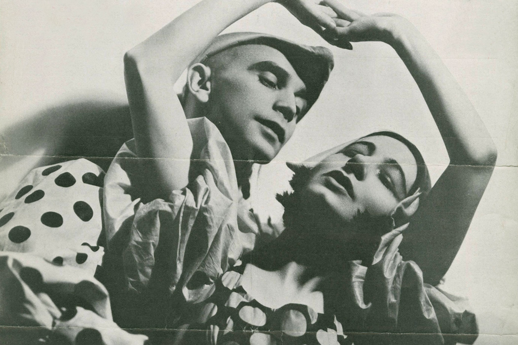 Ruth Page and Harald Kreutuzberg in Bacchanale, 1934