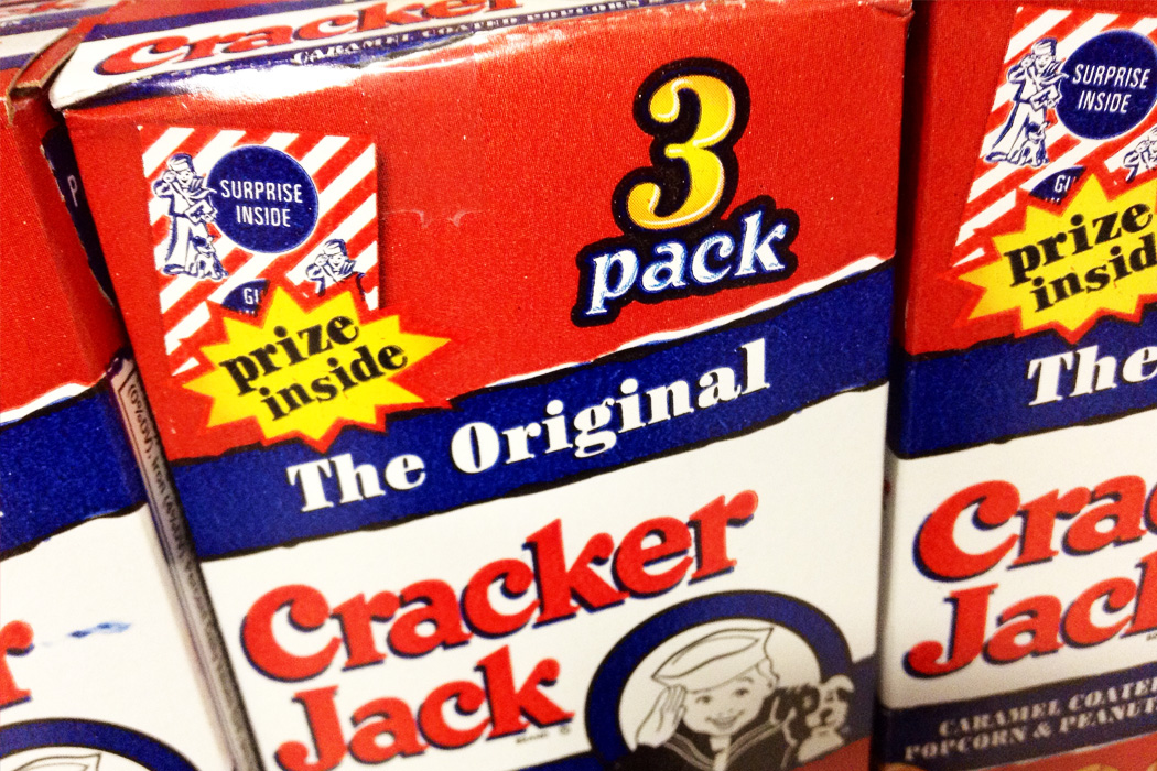 Boxes of Cracker Jacks