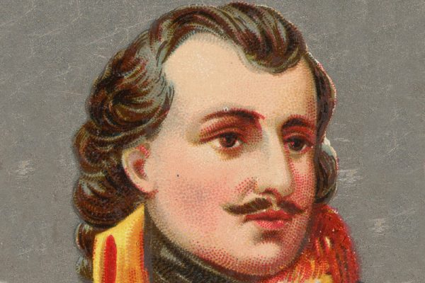 An illustration of Casimir Pulaski