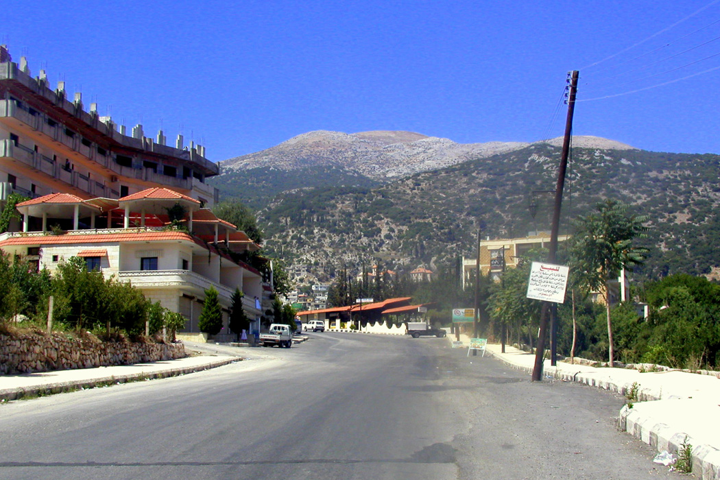 Kessab, a town in Syria on the border of Turkey