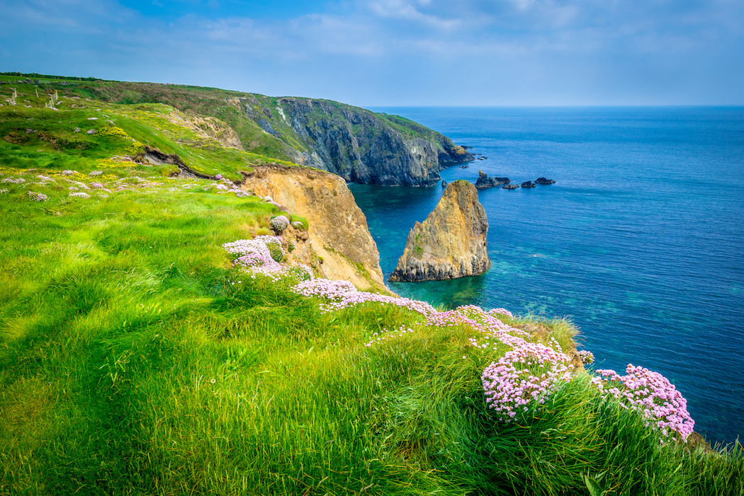 The Copper Coast Geopark, County Waterford, Ireland.