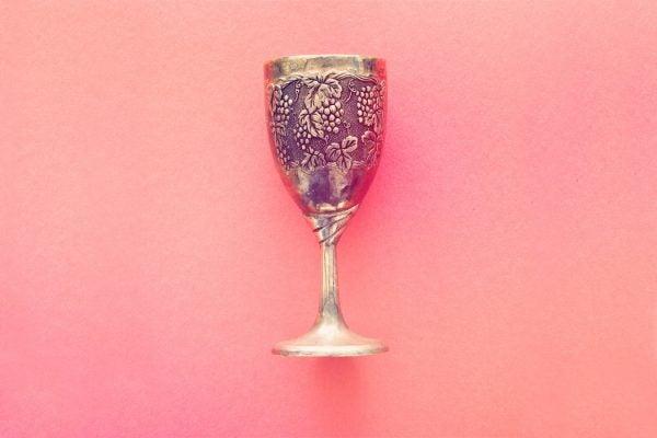 A Jewish wine cup