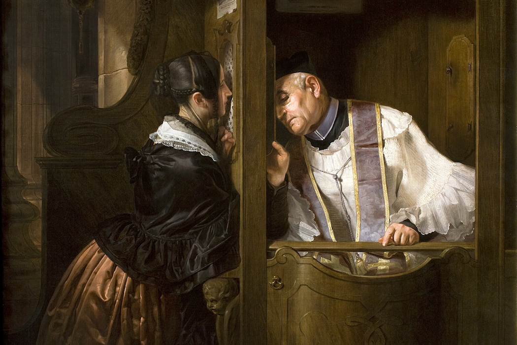 The Confession by Giuseppe Moltini