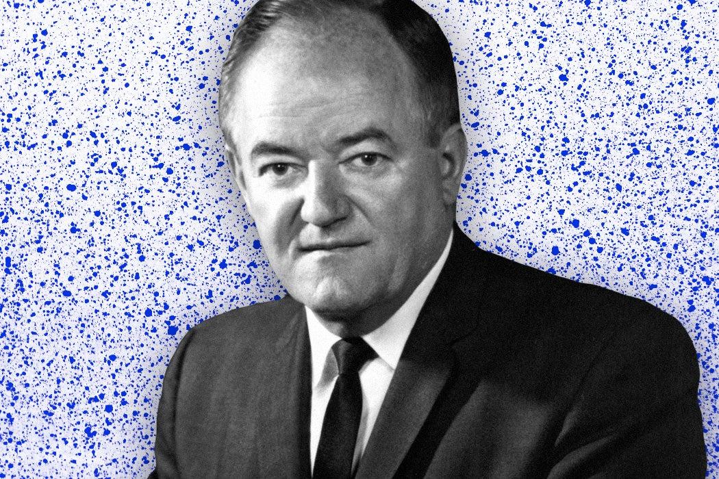 Vice President Hubert Humphrey, circa 1965