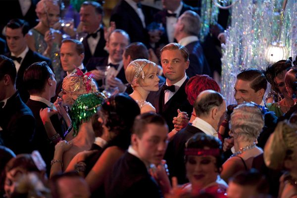 Leonardo DiCaprio and Carey Mulligan in The Great Gatsby, 2013