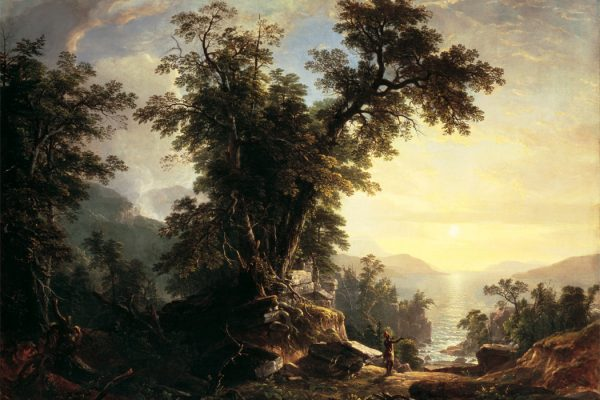 The Indian's Vespers by Asher Brown Durand, 1847