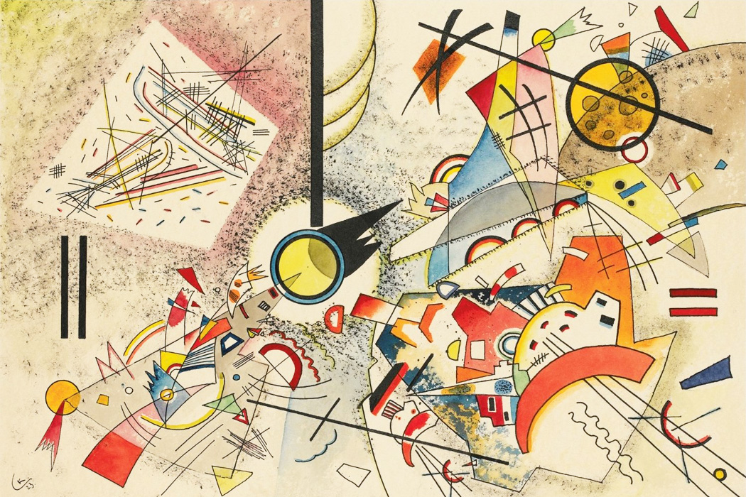 'Ohne Titel' by Wassily Kandinsky, 1923