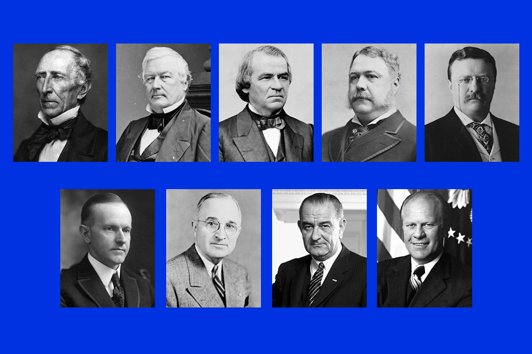 The Accidental Presidents of the United States
