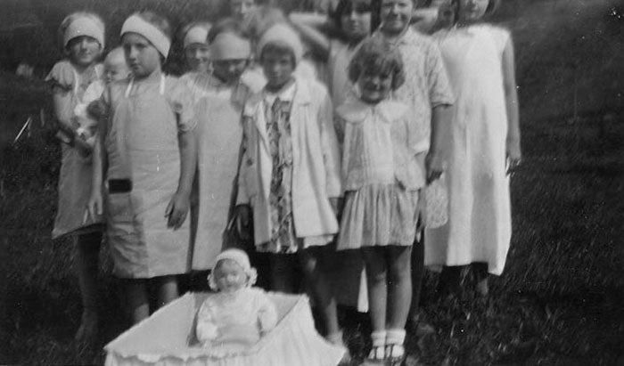 Little Mothers League, Gatlinburg, TN, 1929