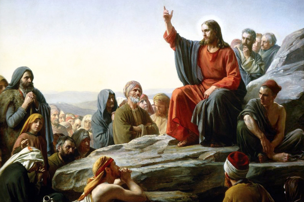 Sermon on the Mount by Carl Bloch, 1877