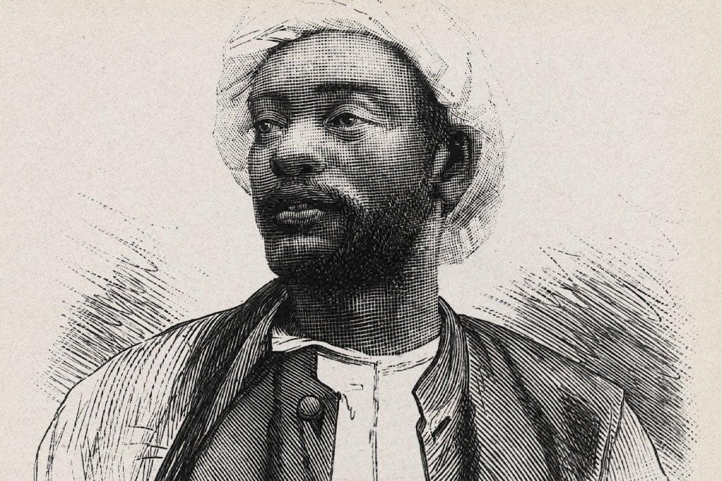 King (Kabaka) Mwanga from Buganda (1868-1903)