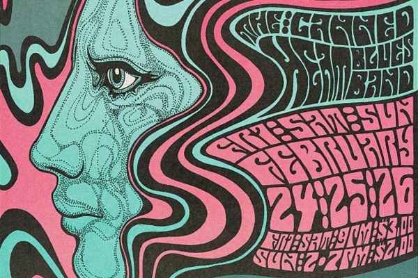 A Wes Wilson band poster, 1967