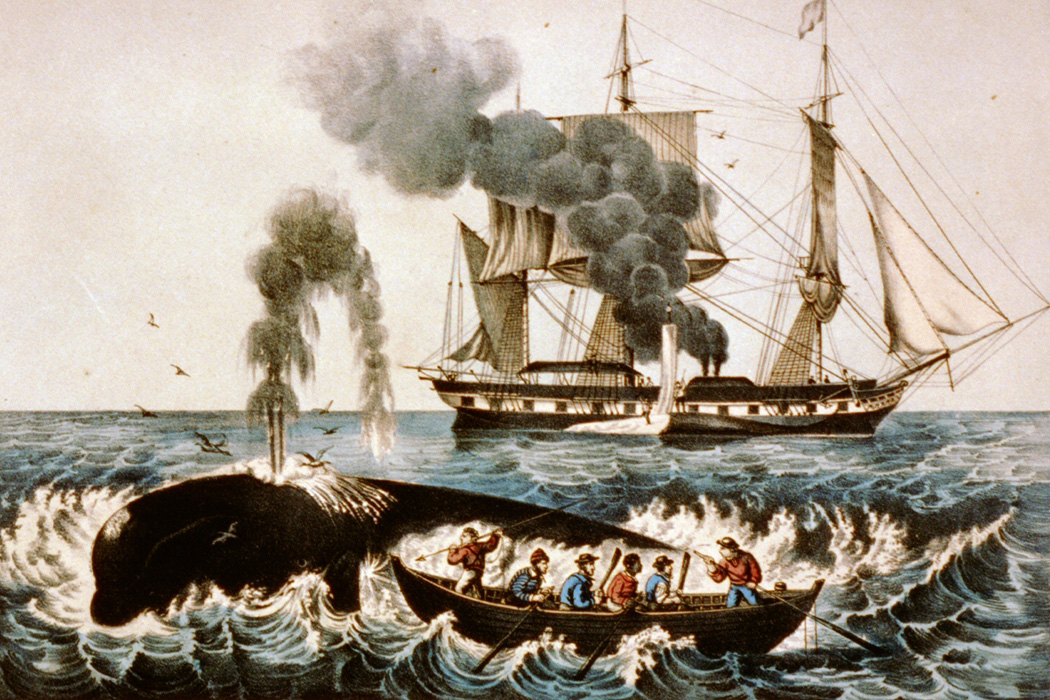A New England whaler