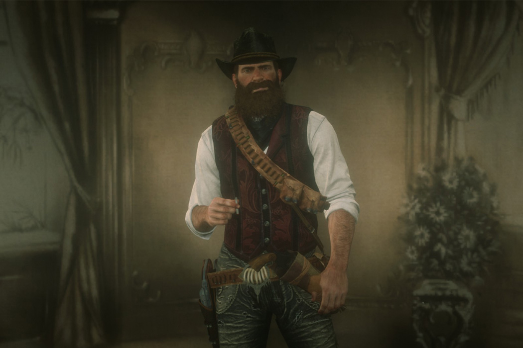 Arthur Morgan from the video game Red Dead Redemption 2