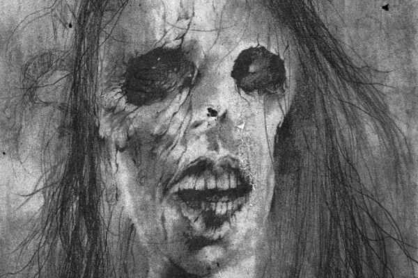 An illustration by Stephen Gammell from Scary Stories to Tell in the Dark