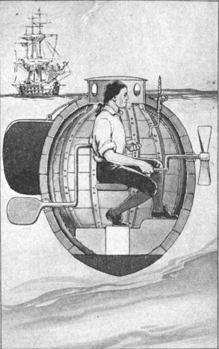 The Turtle Submarine