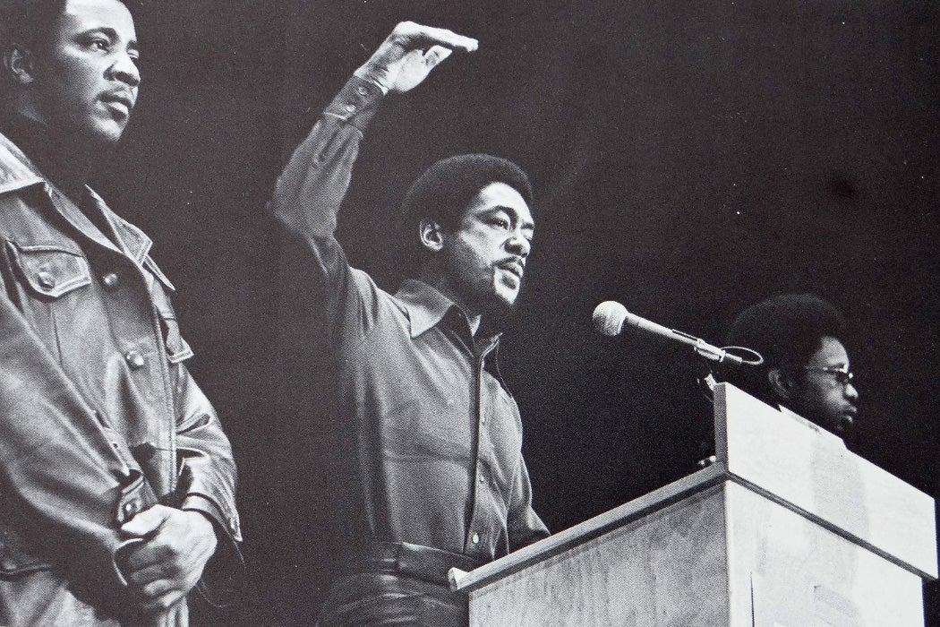 Bobby Seale at John Sinclair Freedom Rally, 1971