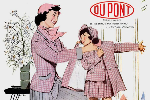 A DuPont ad for Orlon, 1953