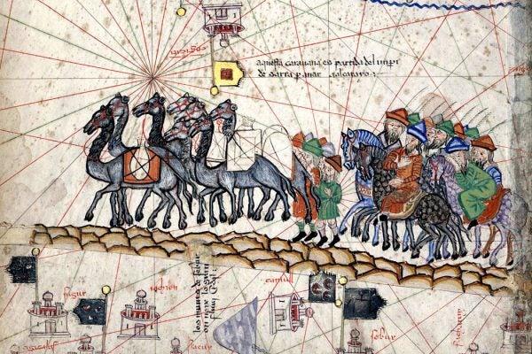 Marco Polo's caravan