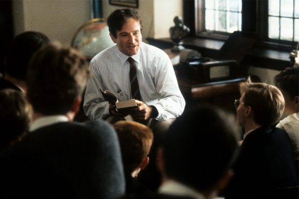 Robin Williams In 'Dead Poets Society'